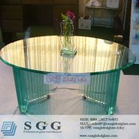 round glass top tables