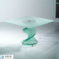tempered table top glass