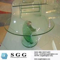 round glass table top