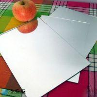 High quality 2mm aluminum mirror glass sheet