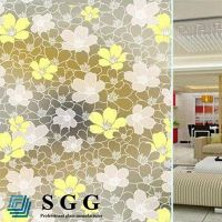 Top quality 4mm painted glass for windows