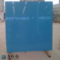 Top quality 10mm silk screen tempered glass