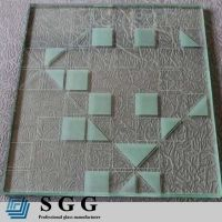 Top quality 12mm painted tempered glass