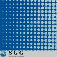Top quality 5mm silk screen tempered glass
