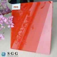Top quality 8mm Lacquered glass