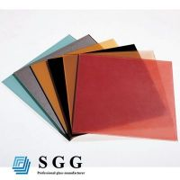 Top quality 4mm silk screen tempered glass