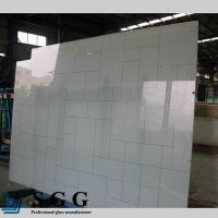 Top quality 6mm painted glass panel