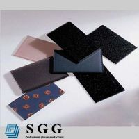 Top quality 5mm colored painted glass