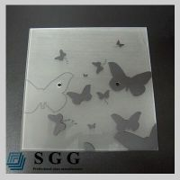 Top quality 5mm painted  glass panel