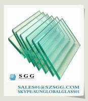 Automotive clear float glass
