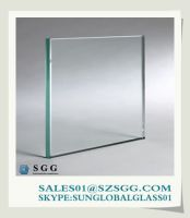 Clear float automotive glass