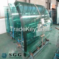 High quality curved glass suppliers