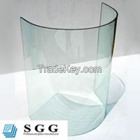 High quality bent curved glass