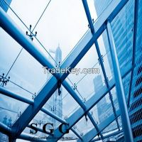 clear toughened spider systerm glass roof glass, 6mm 8mm 10mm 12mm 15mm 19mm