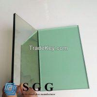 light green reflective glass, thickness 4mm 5mm 5.5mm 6mm 8mm 10mm 12mm