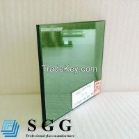 Dark green reflective glass, thickness 4mm 5mm 5.5mm 6mm 8mm 10mm 12mm