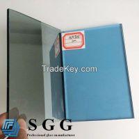 Light blue reflective glass, thickness 4mm 5mm 5.5mm 6mm 8mm 10mm 12mm