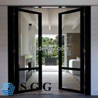 clear toughened glass door, 6mm 8mm 10mm 12mm 15mm 19mm