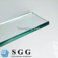 Clear & frosted toughened glass, 3mm 4mm 5mm 6mm 8mm 10mm 12mm 15mm 19mm