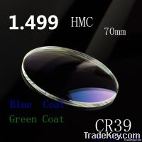 1.1.1stock lens 1.50 HMC Single Vision optical resin lenses high quail