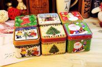 christmas tin box