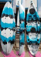 Family Kayak Boat | Sit on top | 2+1 Capacity