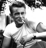 James Dean Style Retro Men T Shirt