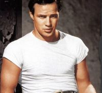 Marlon Brando Style Retro Men T Shirt