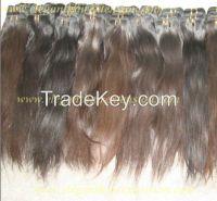 Top quality natural virgin human hair in natural color