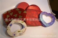 Manufacturing heart-shaped gift packaging box