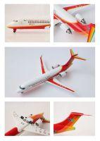 Die cast 36*30*22.5ARJ21 aerobus model 1:100