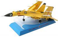 Die cast J-15 fighter jet model in 1:32 scale