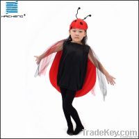 Wycostumes Child Lady bug animal costumes vest for halloween