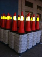PE traffic cones
