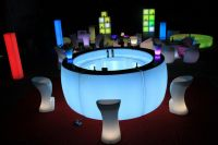 waterproof LED Bar Counter with 16 Color Changing and Remotes use in bar and club