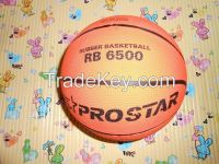 Rubber Basketball No 6