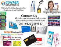 RFID, Employee Card, Student Card, Bar-Code