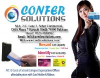 Confer ID Card Service offer, RFID Cards