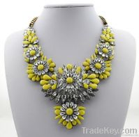 014 Wholesale Cheap Shourouk Necklace Luxury Crystal Fashion Jewelry