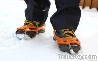 Eight teeth enhanced walking crampons