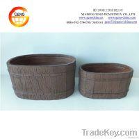 2014 Geno Best Seller Rustic Wooden Pot