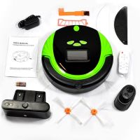 High Quality Intelligent Robot Vacuum Cleaner with 2200mAh Battery