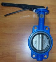 Wafer Type Butterfly Valves with Lever