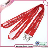 Custom lanyards no minimum order for sale