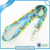 Full color sublimation lanyard