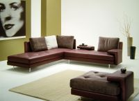 Roches Bobois and Cuir Center leather sofa (famous)