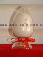 Metallurgical pellet bentonite