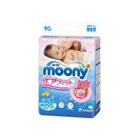 Moony Baby Diapers Tape Type Newborn Size 90 (0-5kg)