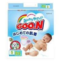 Goon Super Jumbo Baby Diapers Tape Type Small Size 84 (4-8kg)