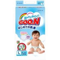 Goon Super Jumbo Baby Diapers Tape Type Large Size 54 (9-14kg)